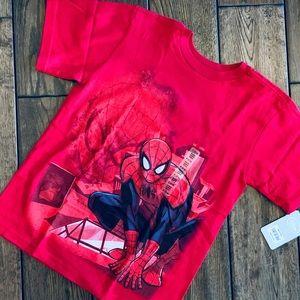 NWT Disney Store Boys' Spiderman Tee